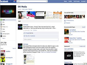 oh+media Fan Page Oh! Media Network Kena Hacked! PANAS!!