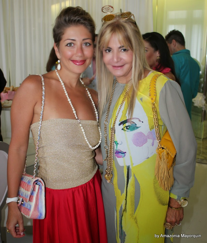 T. Trackhtemberg and Viviana Gabeiras.