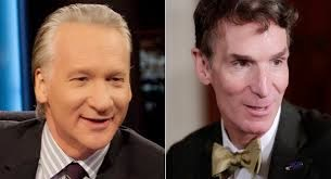 Bill Maher and Bill Nye
