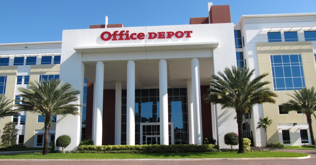 office depot corporate office headquarters hq. Black Bedroom Furniture Sets. Home Design Ideas