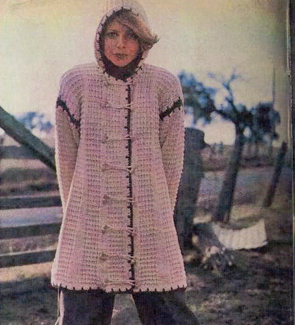 Knitting Pattern Hooded Jacket : The Knitting Needle and the Damage Done: Twentieth Century ...