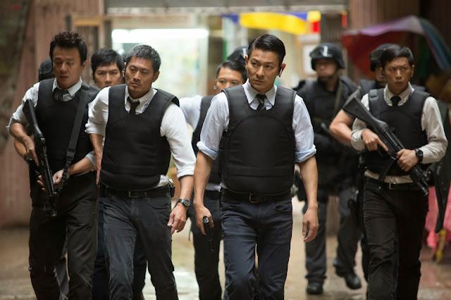 Andy Lau in Firestorm movie still