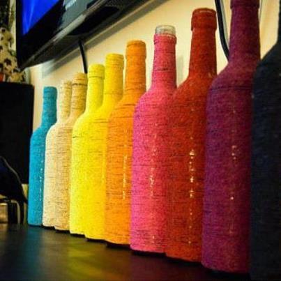 Blog da dela reaproveitando - Botellas con velas ...