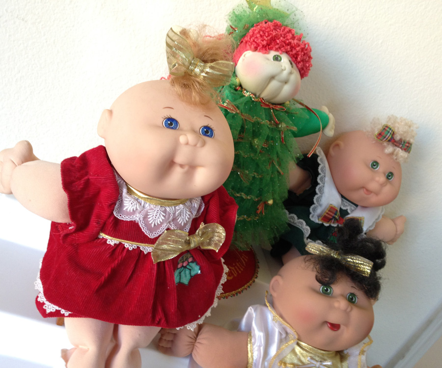 The Copycat Collector: COLLECTION #123: Christmas Cabbage Patch Kids
