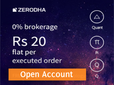 Start your trading career with zerodha