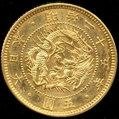 buy sell Japanese gold coins Japan