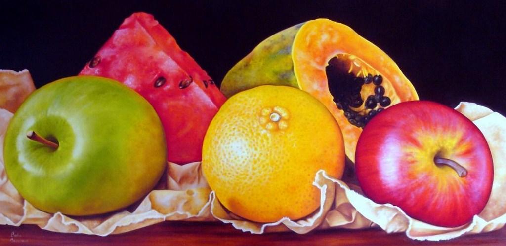 Im genes arte pinturas bodegones con frutas frescas - Fotos de bodegones de frutas ...