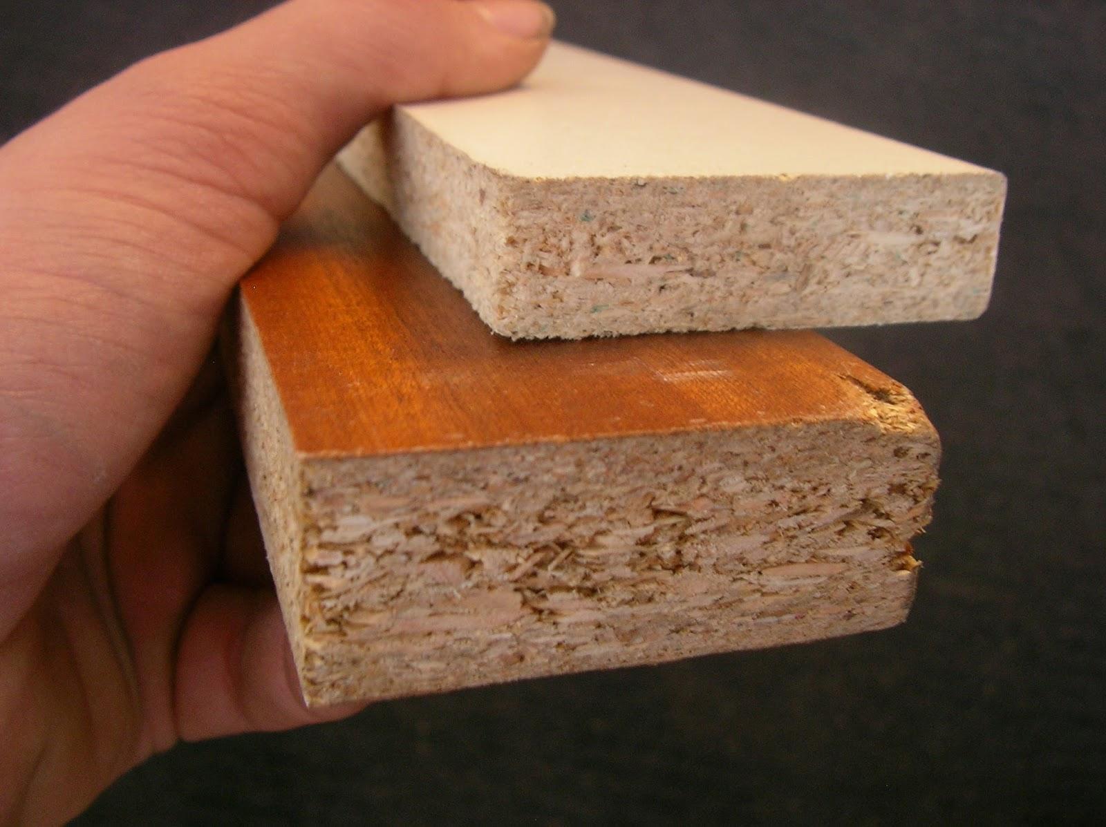 Gambar. jenis kayu Particle Board