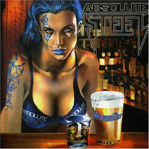 Tattooed woman with beer