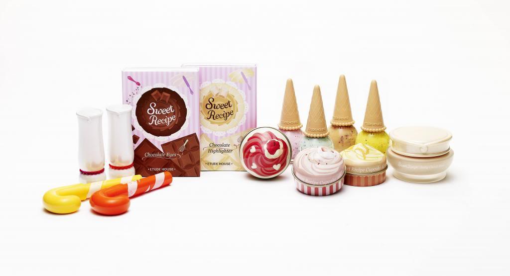 cosmética asiática Sweet Recipe Etude House
