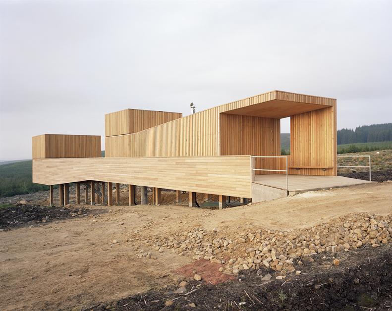 Arquitectura zona cero madera y metal kielder for Arquitectura de madera
