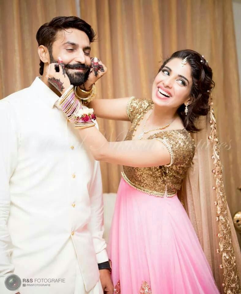 Pakistani Actress Sonia Hussain Wedding Pics ~ Just Bridal