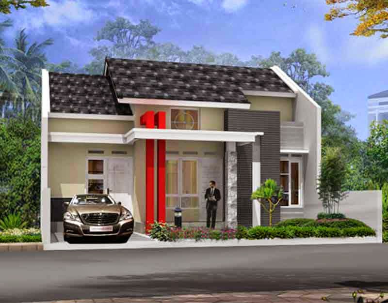 Minimalist-Home-Design-Simple-By-Garage-car