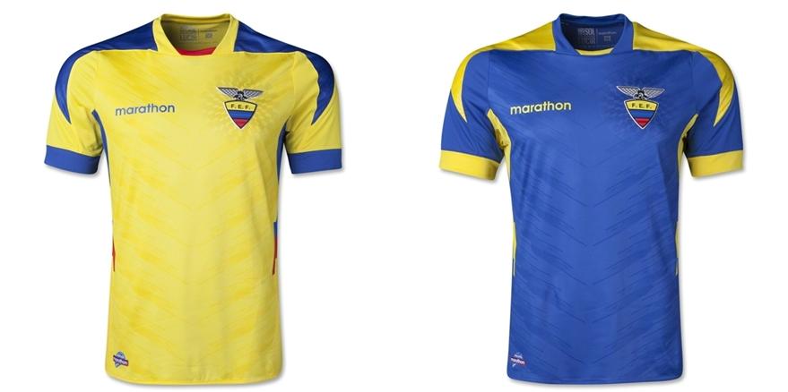 Ekuador - Jersey Grade Ori Piala Dunia 2014