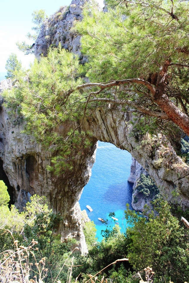 Capri, Amalfi cost, arco naturale