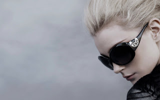 Blonde Glasses Fashion Glamour HD Wallpaper
