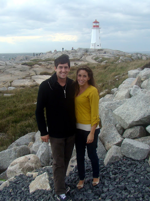 peggy's cove nova scotia halifax lighthouse rocks and surf