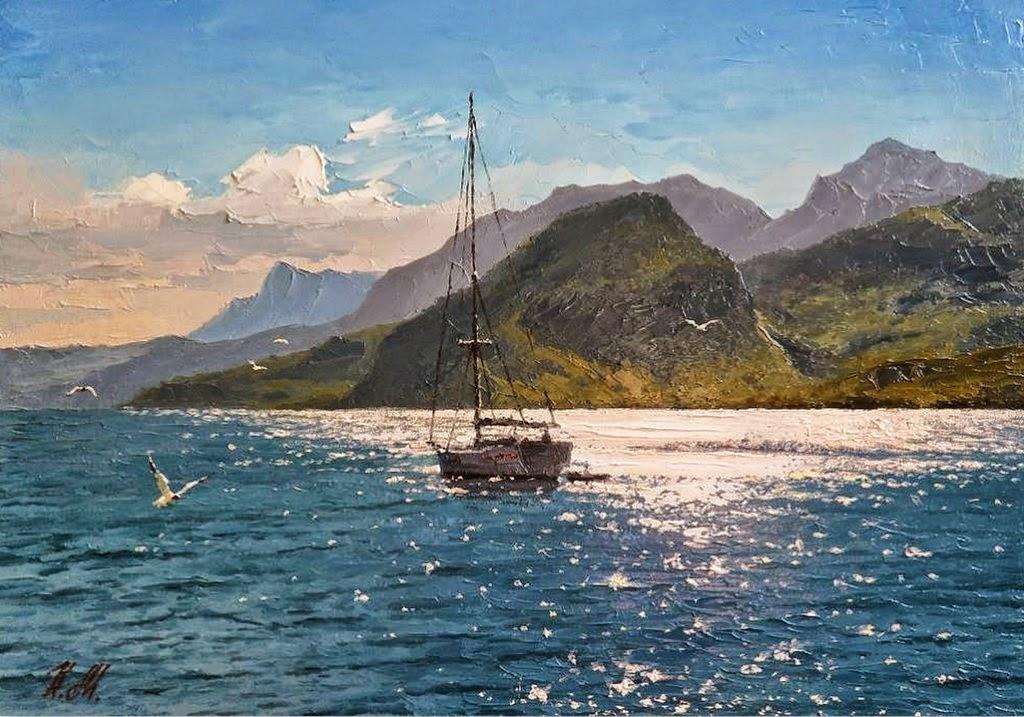 cuadros-de-paisajes-del-mar-pinturas