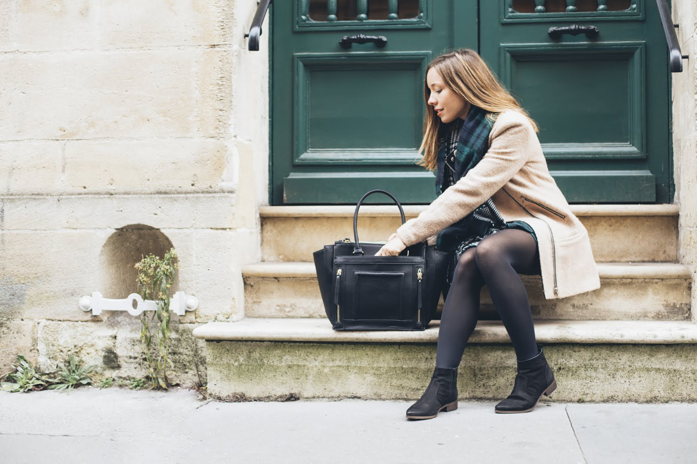 blog mode look hiver manteau camel