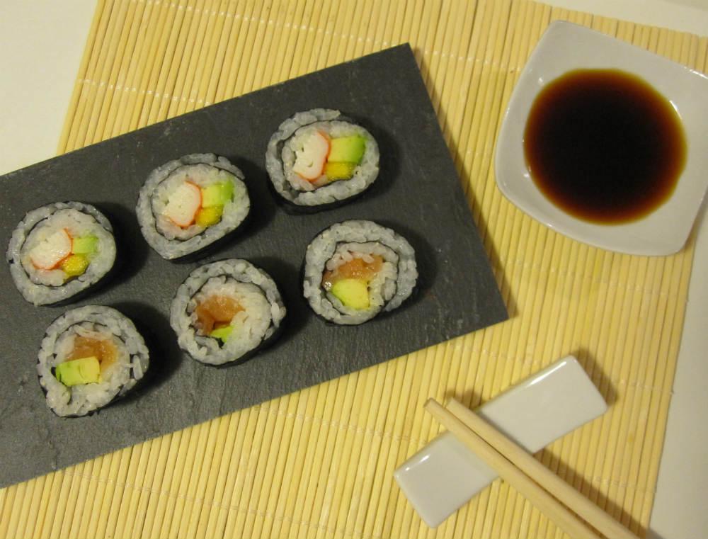 Sushi Maki presentación