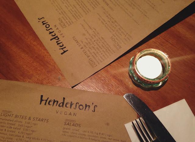 Hendersons Vegan Edinburgh