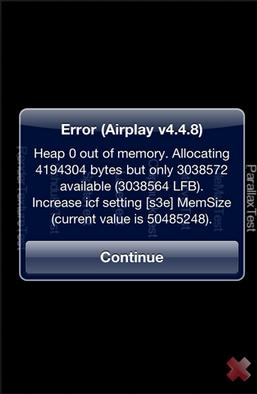 iPhone Memory Leak Testing