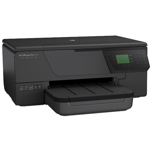 HP Officejet Pro 3610 Black and White All-in-One Printer Full Specification, Specs and Details