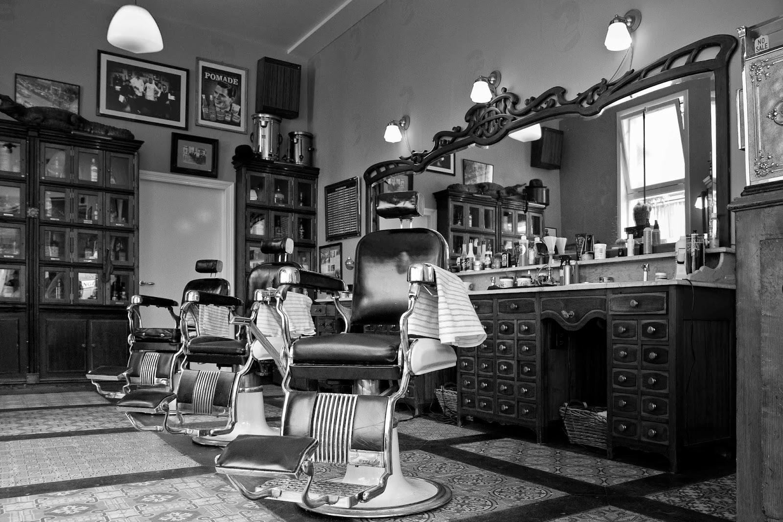 .Estilo Retrô Rock.: Barbeiros vintagers e a história ...