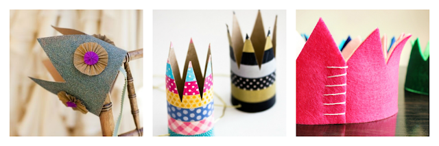 DIY PARTY CROWN / DIY CORONAS DE FIESTA