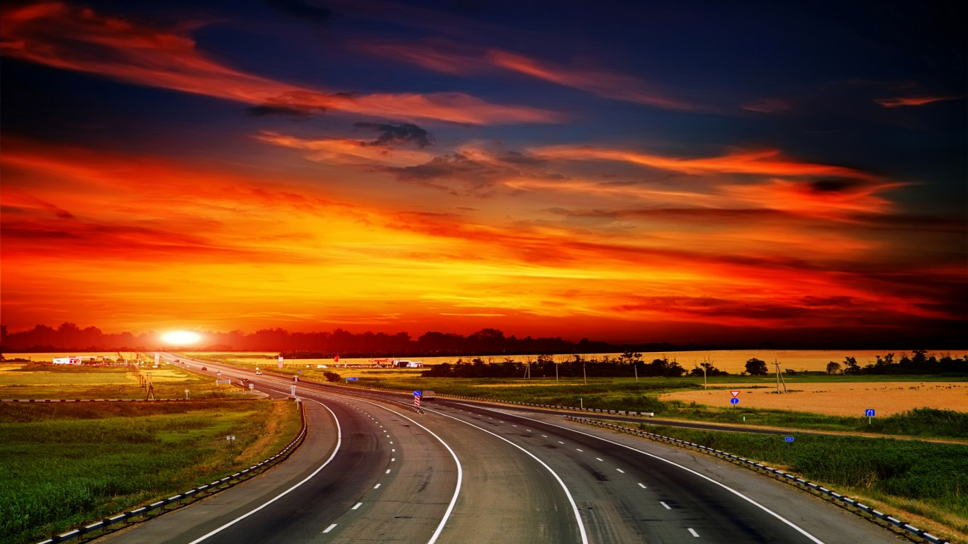 Road Sunset Wallpaper Chillout Sounds - Loun...