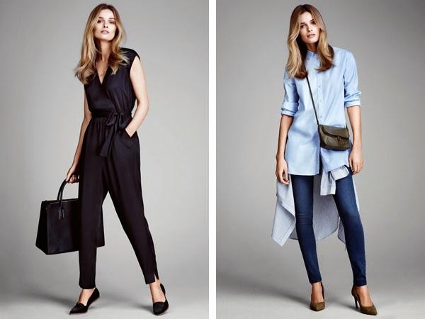 pantalones de moda H&M mono sin mangas y treggings