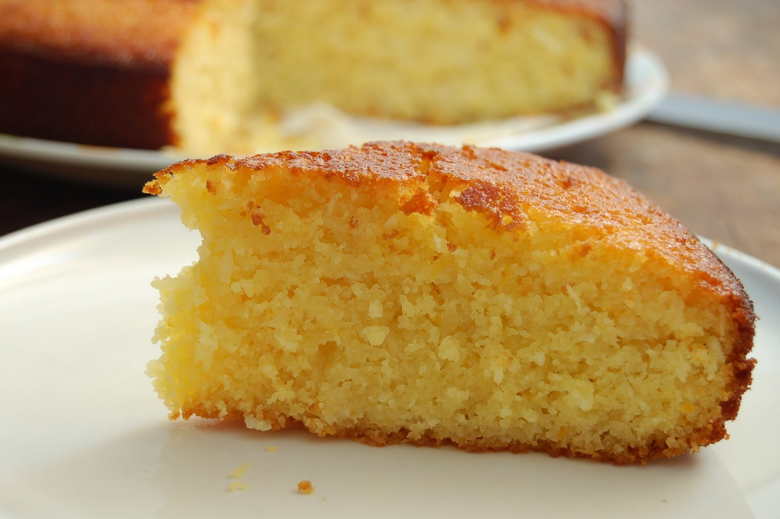 Greek Orange Syrup Cake Recipe