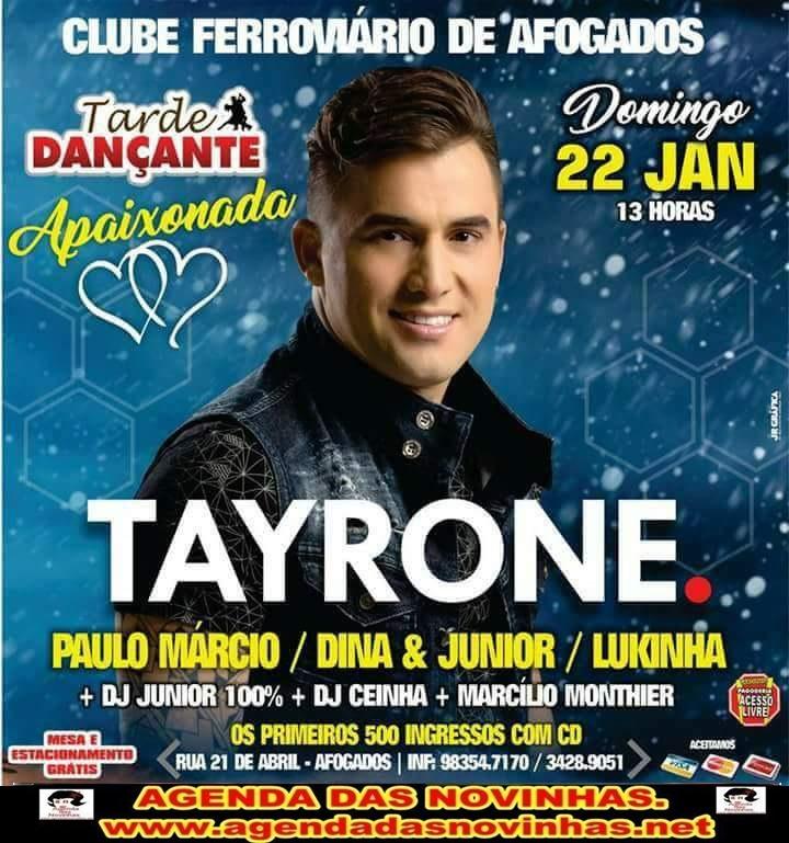 CLUBE FERROVIÁRIO DE AFOGADOS - TAYRONE.