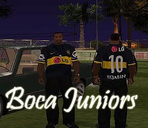 Camisa Boca Juniors LG GTAIV