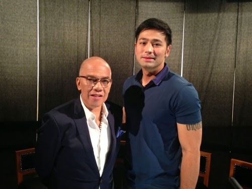 Boy Abunda and Hayden Kho
