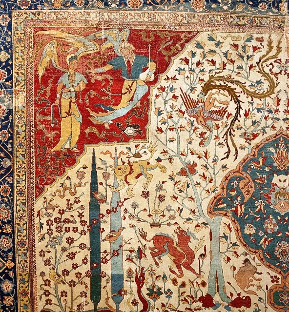 Coronation Carpet Lacma