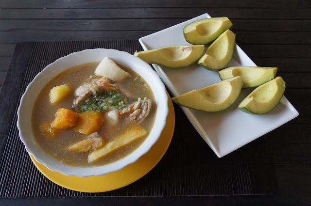 Sancocho La Jorará Colombia de una