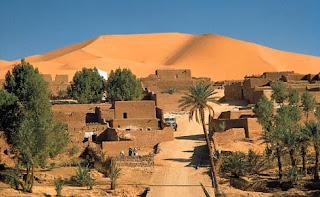 Desert Sahara In Africa