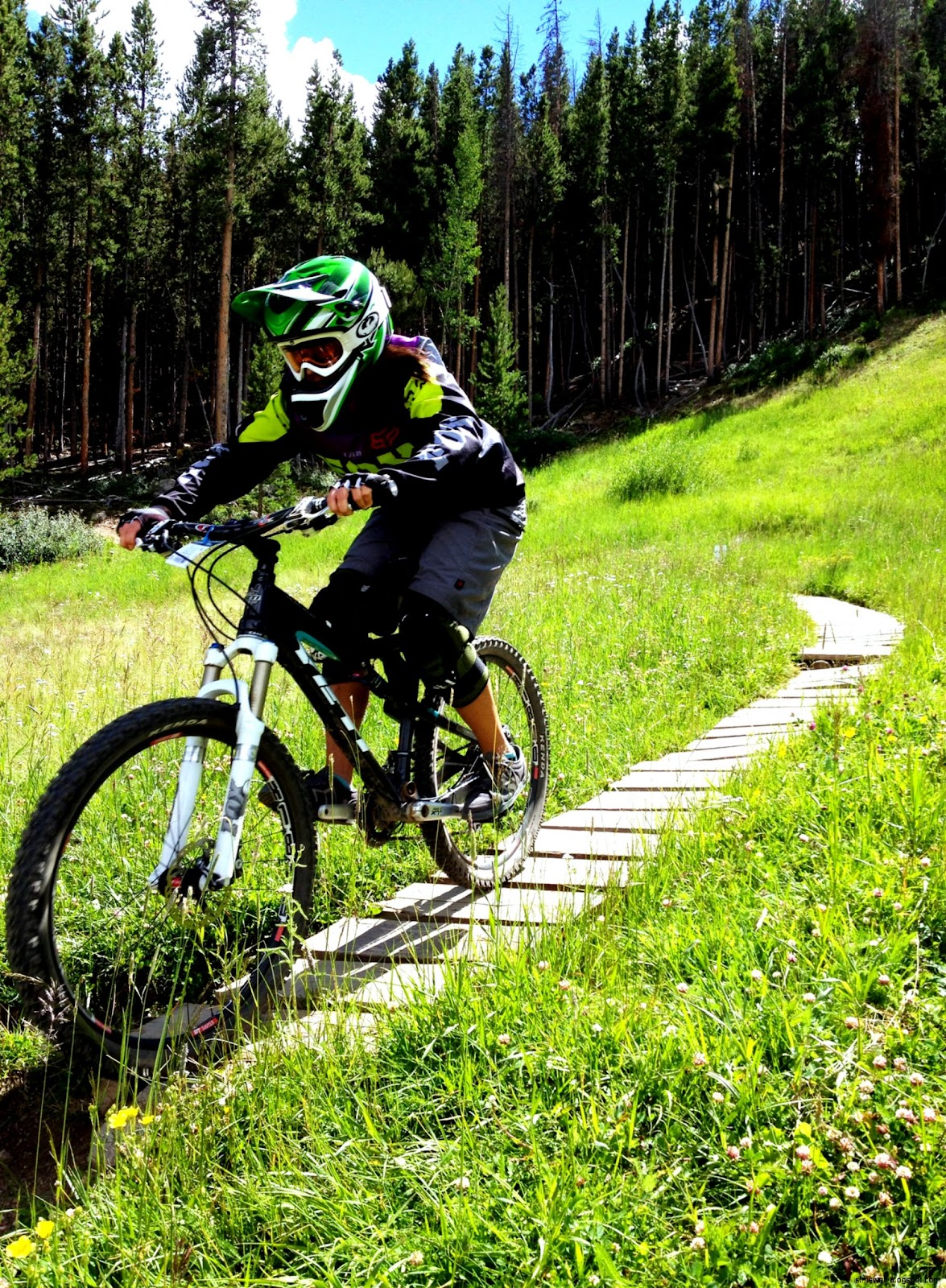 Keystone Bike Park  Miss Yeti