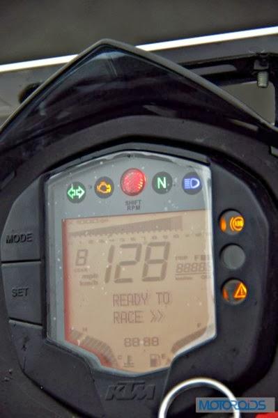 KTM 390 Duke India road test review 73