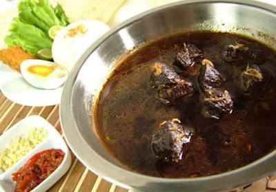 Resep membuat rawon daging sapi jawa timur