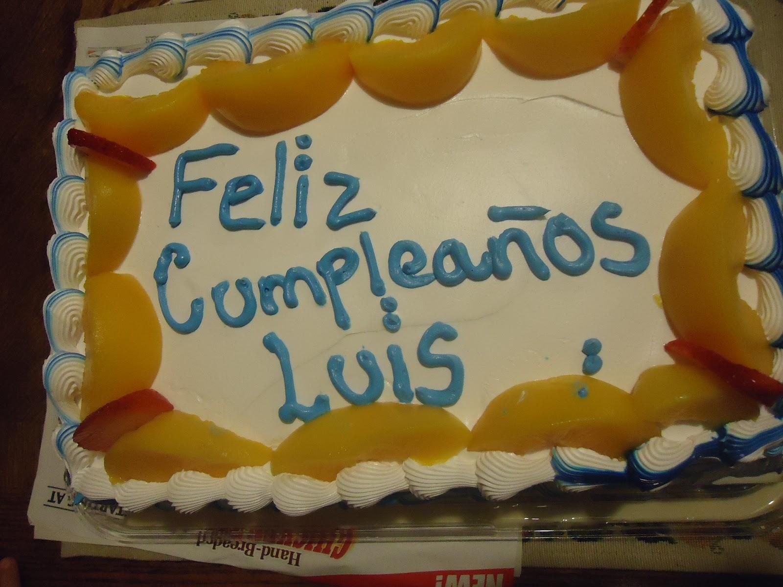 Vergarays Happy Birthday Luis
