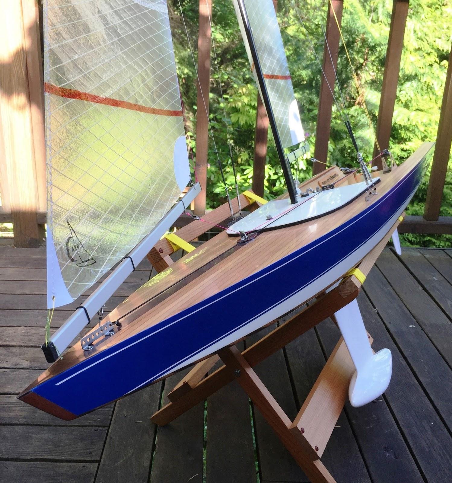Star 45 RC Sailboat Build Blog