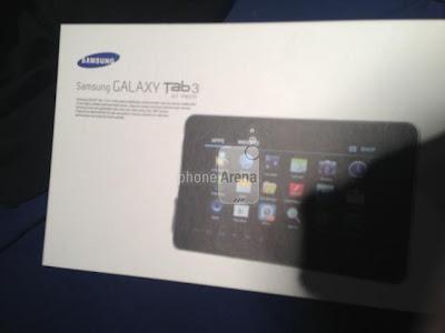 Samsung galaxy tab 3 leaked image