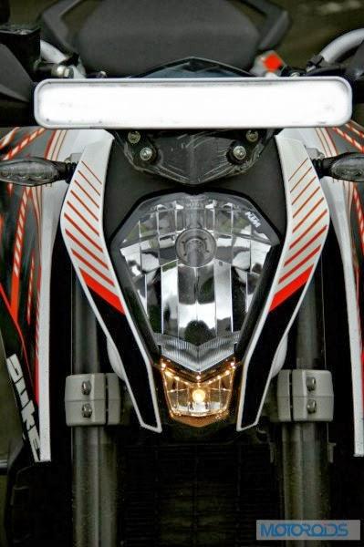 KTM 390 Duke India road test review 261