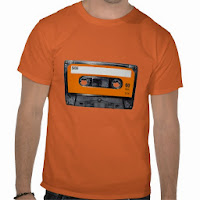 T-shirt cassette audio
