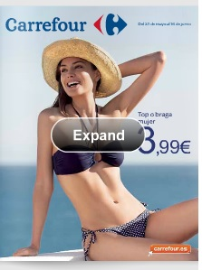 catalogo carrefour bikinis verano 2013
