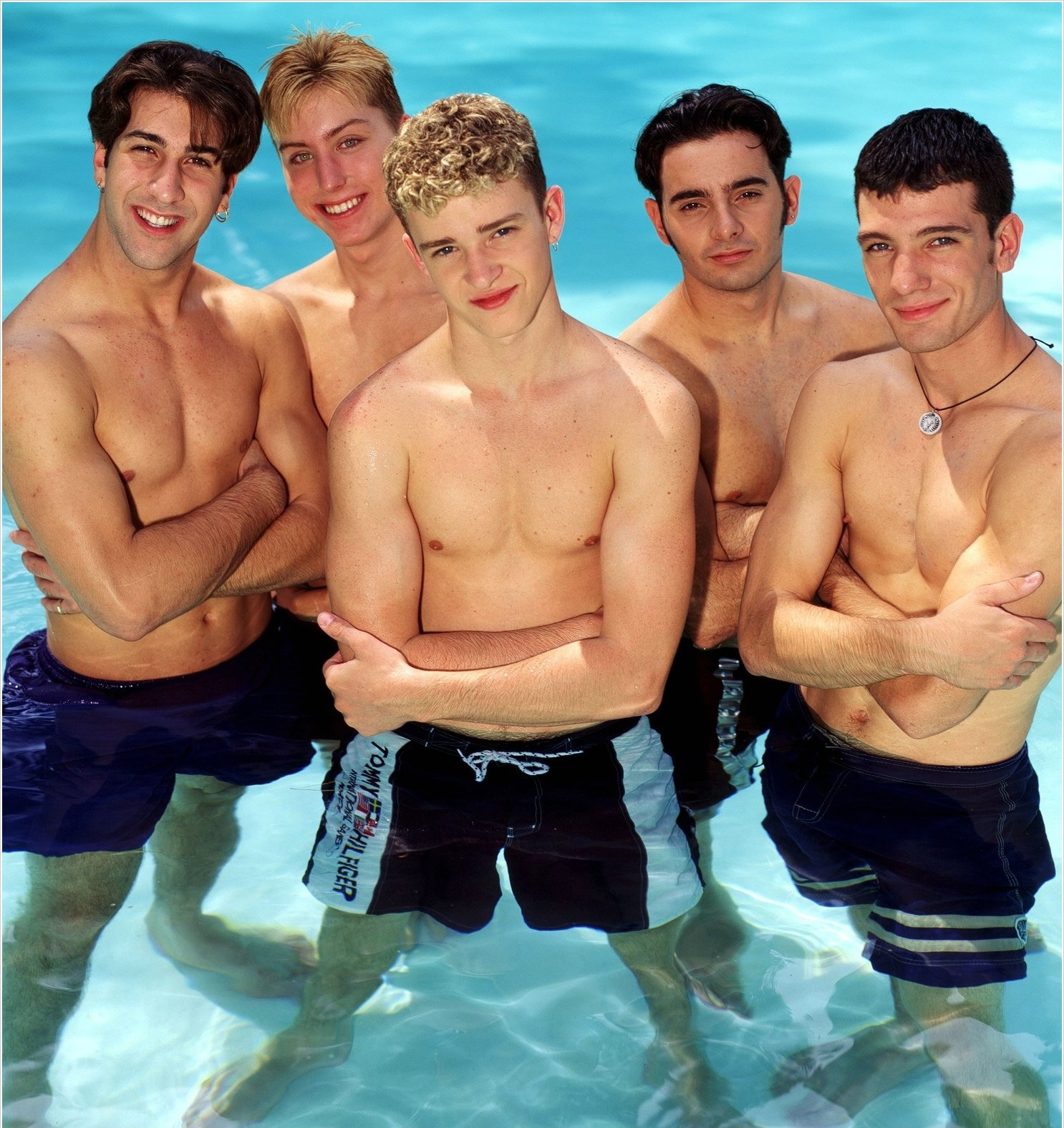 chestedness bare hottest moments the newnownext nsync history in boy band male bands