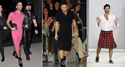 Dicas de modelos de Vestidos para Homens