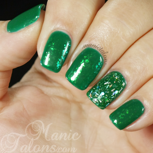 Green Nails for St. Patrick's Day